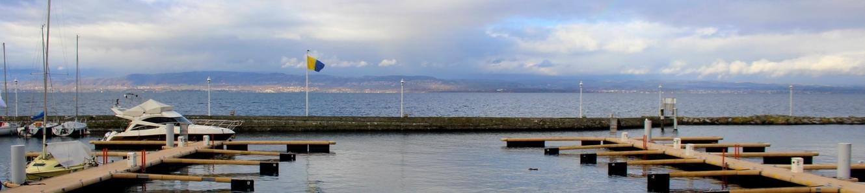 Lac Léman à Thonon-les-Bains
